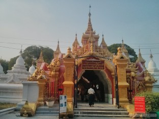 Mandalay - Kuthodaw Pagoda 1