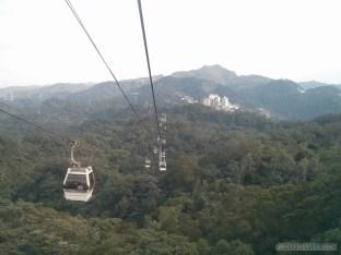 Maokong - gondola ride 1