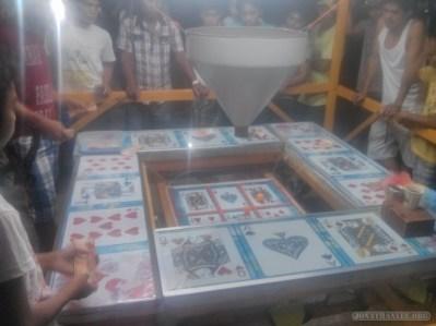Moalboal - nightly festival gambling 1