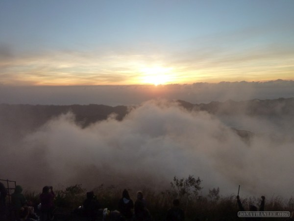 Mount Batur - sunrise scenery 8