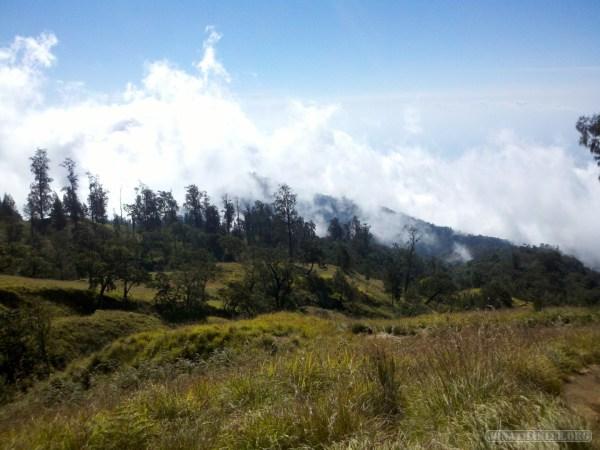Mount Rinjani - first day scenery 1