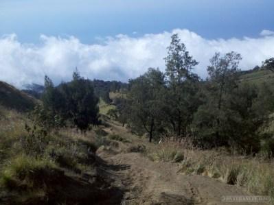 Mount Rinjani - first day scenery 4