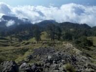 Mount Rinjani - first day scenery 8