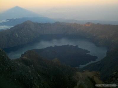 Mount Rinjani - summit view 1