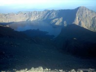 Mount Rinjani - summit view 3