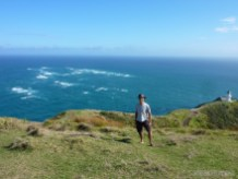 NZ North Island - Cape Reinga portrait