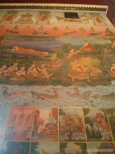 Nong Khai - Wat Phochai mural 2