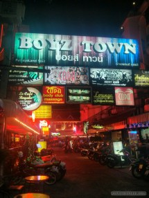 Pattaya - nightlife boyz town