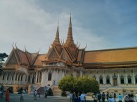 Phnom Penh - royal palace building 3