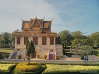 Phnom Penh - royal palace building 4