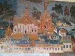 Phnom Penh - royal palace mural 3