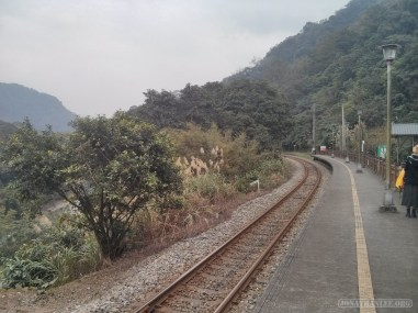 Pingxi - walking along railway 1