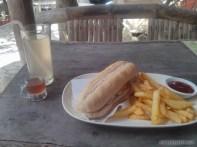 Port Barton - chicken sandwich lunch
