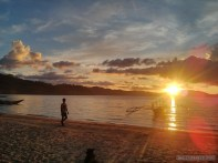 Port Barton - sunset 2