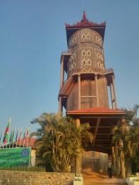 Pyin U Lwin - National Kandawgyi Gardens Nan Mying tower 2