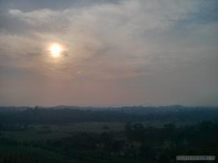 Pyin U Lwin - National Kandawgyi Gardens Nan Mying tower view 1