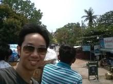 Pyin U Lwin - riding on truck portrait