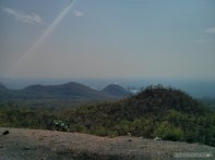 Pyin U Lwin - riding on truck view 2