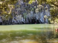 Sabang - underground river entrance 2