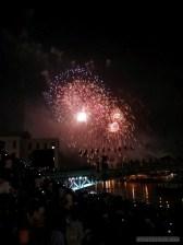 Saigon during Tet - fireworks 11