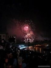 Saigon during Tet - fireworks 12