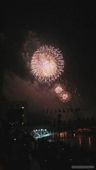 Saigon during Tet - fireworks 13
