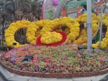 Saigon during Tet - flower street 2