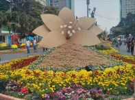 Saigon during Tet - flower street 21