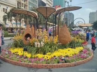 Saigon during Tet - flower street 8