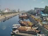 Saigon during Tet - riverside flower market 2