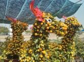 Saigon during Tet - riverside flowers horses