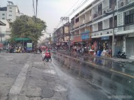 Songkran in Bangkok - regular street 2