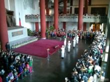 Sun Yat-Sen memorial - changing of guard 2