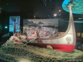 Taichung - Museum of Natural History aboriginal boat