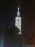 Taipei 101 New Years fireworks - 10 pm
