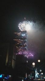 Taipei 101 New Years fireworks - fireworks 8