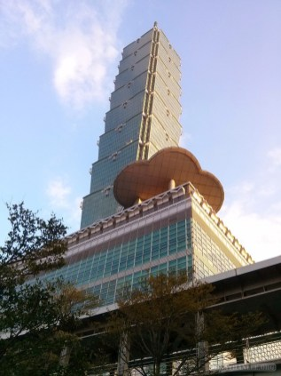 Taipei 101 - from below 1