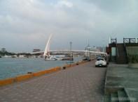 Taipei - Tamsui fishermans wharf lovers bridge