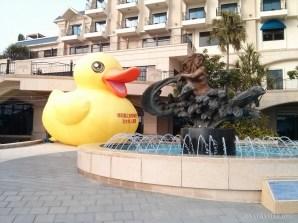 Taipei - Tamsui mini rubber duck
