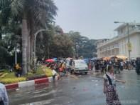 Thingyan in Yangon - Kandawgyi 2