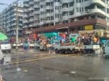 Thingyan in Yangon - main street 3