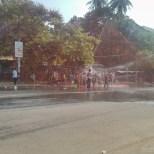 Thingyan in Yangon - street view 2