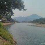 Vang Vieng - river view 3
