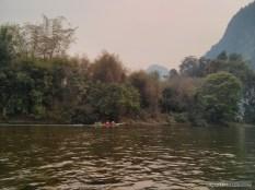 Vang Vieng - tubing on river 7
