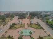 Vientiane - Patuxai view north