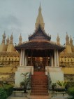 Vientiane - Pha That Luang inside 1