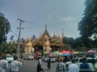 Yangon - Shwedagon pagoda north entrance