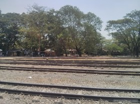 Yangon - circular train view 2