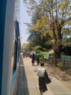 Yangon - circular train view 3