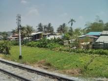Yangon - circular train view 7